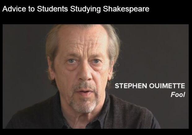 Actor Stephen Ouimette King Lear Stratford Festival