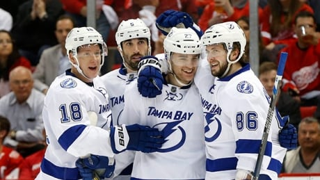 Drouin Powers Lightning Past Red Wings To Take 3-1 Series Lead