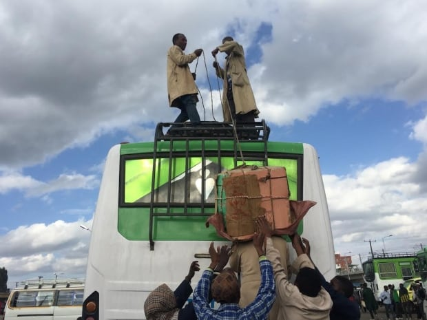 Porters in Addis Ababa