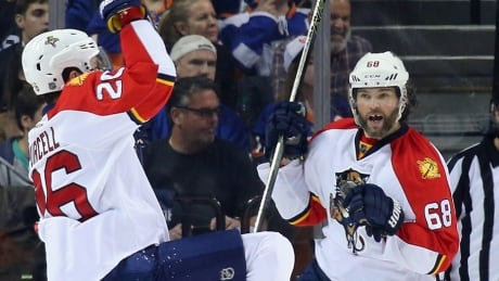 Jagr Joins Elite Company With 200th NHL Playoff Point
