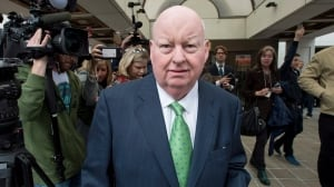 Mike Duffy will face a battle if he wants back pay, senior Tory senators say