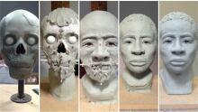 art school cold case collage