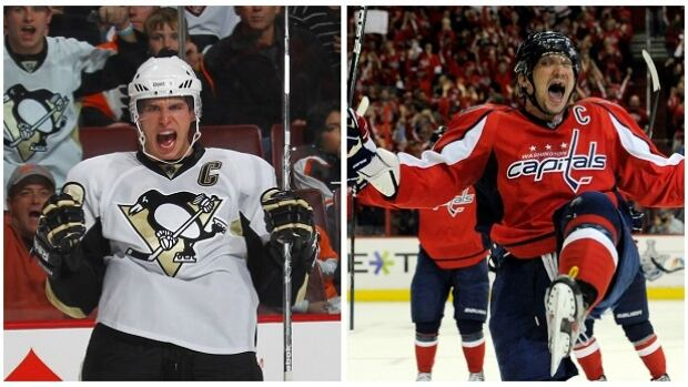 The Washington Capitals meet the Pittsburgh Penguins in round two of the NHL playoffs setting up the Sidney Crosby vs. Alex Ovechkin matchup.