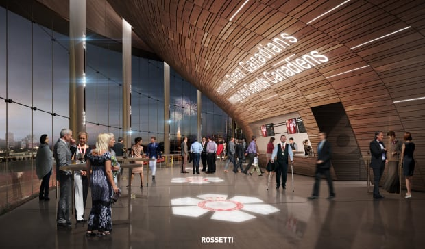 arena concourse - RendezVous LeBreton Group