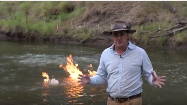 river fire