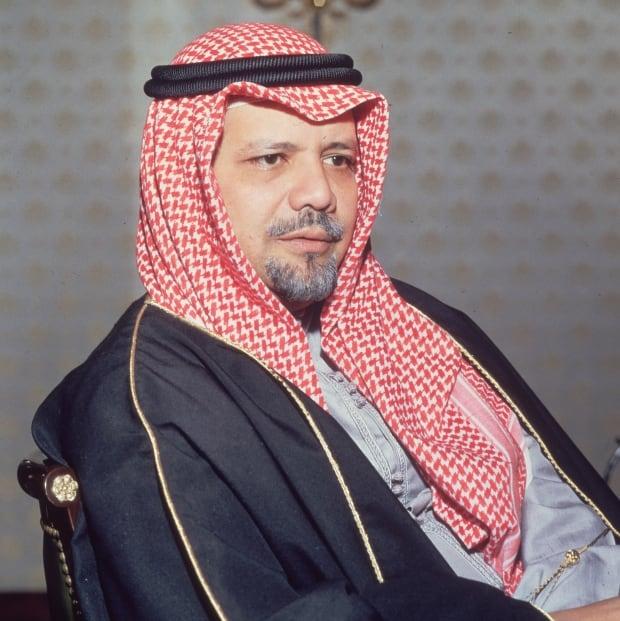 Saudi Arabian oil minister Sheik Ahmed Zaki Yamani