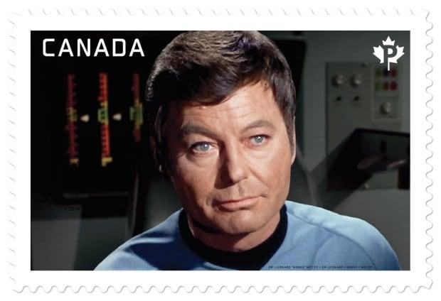 Dr. Leonard 'Bones' McCoy on Canadian postage