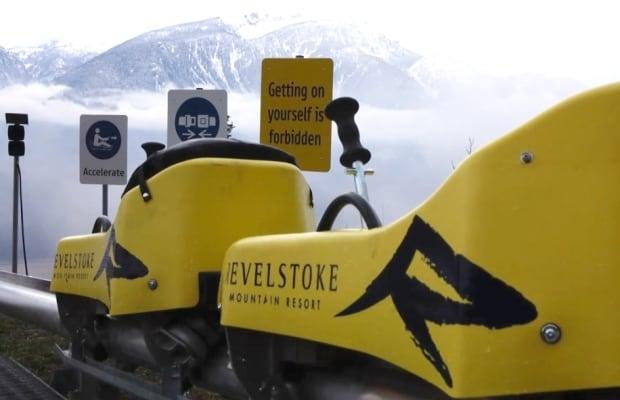 New Pipe mountain coaster in Revelstoke