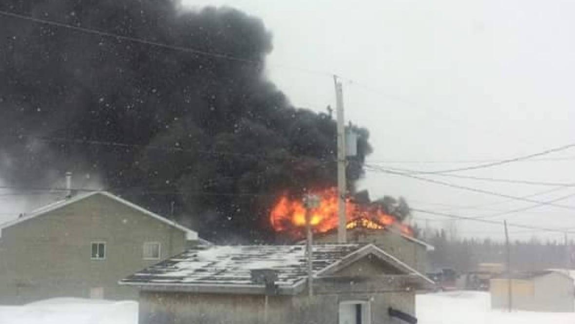 Edmonton Building Fire