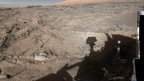 curiosity mars panorama