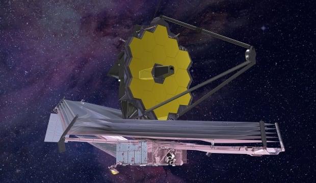 James Webb Space Telescope (artist's impression)