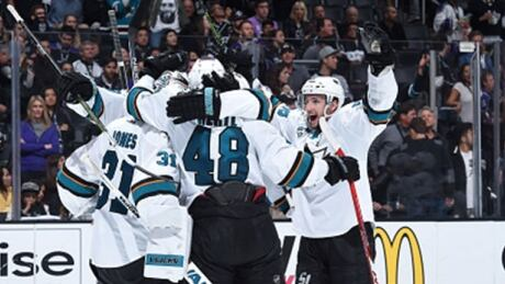Sharks Insist They're Ready For Preds After Long Layoff