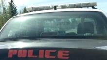 Lethbridge police car