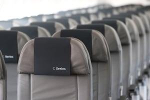 CSeries bombardier plane jet seat