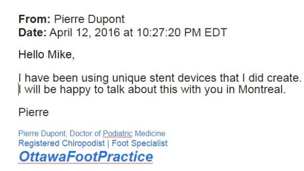 Pierre Dupont email