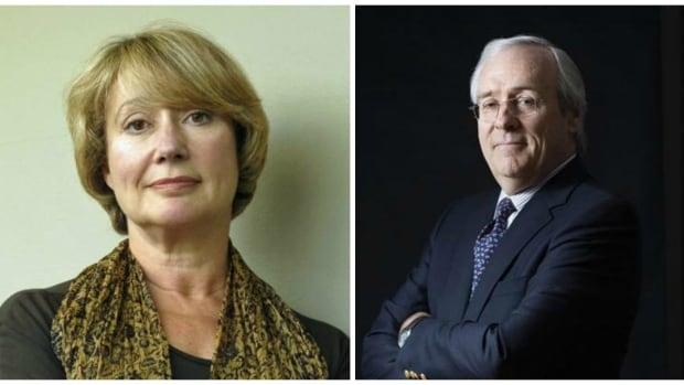Margaret Wente & Terence Corcoran
