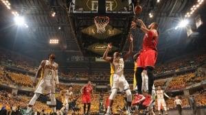 Raptors lead Pacers after 1st quarter