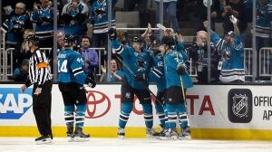 Joel Ward sparks Sharks' offence in Game 1 win over Predators