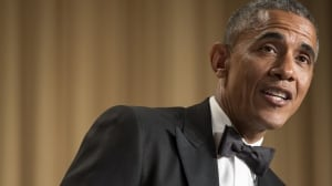 Obama's last standup: Tonight's correspondents' dinner a final chance to zing Washington