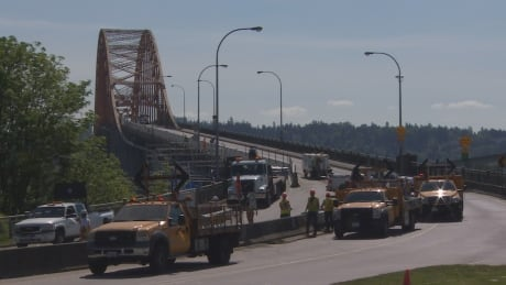 Pattullo Bridge completed closure for rehabilitation work