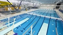 H20 Adventure + Fitness Centre pool, Kelowna