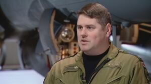 CF-18 commander describes 'having to take lives' in ISIS bombing mission