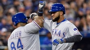 Nomar Mazara's solo homer seals victory for Rangers over Blue Jays