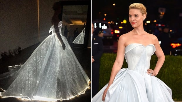 A Glowing Fiber Optic Dress Is Everything Fashion Needed