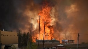Wildfire destroys Fort McMurray homes, most of city evacuated