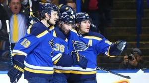 Alexander Steen, David Backes score twice as Blues rout Stars