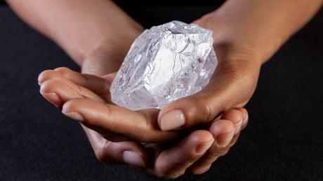 Lesedi la Rona diamond, the size of a tennis ball, could fetch $90M