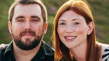 Chris Mouland and Michelle Hillier