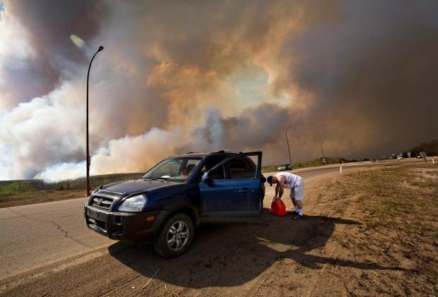 APTOPIX Canada Wildfire