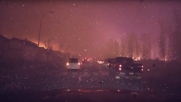 Fort McMurray Michel Chamberland video