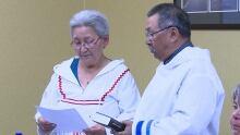 Johannes Lampe sworn in as Nunatsiavut President