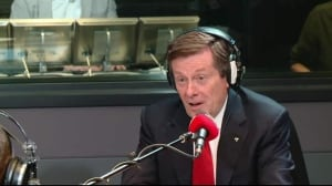 "Mayor John Tory says it's his job to ""try things"" like approved Bloor bike lanes pilot project"