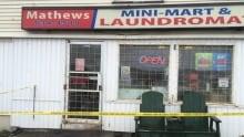 Mathews Mini-Mart and Laundromat armed robbery