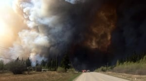 Wildfires spark evacuation order, state of emergency near Fort St. John