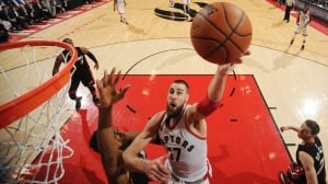 Raptors grind out OT win vs. Heat in Game 2