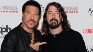 Lionel Richie and Dave Grohl