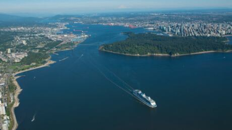 Cruise ship season is here in Vancouver: 13K passengers expected today