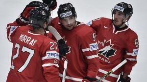 Canada crushes U.S. to open world hockey championship