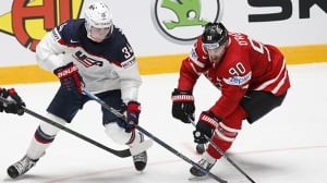 Auston Matthews impresses despite Americans' lopsided loss to Canada