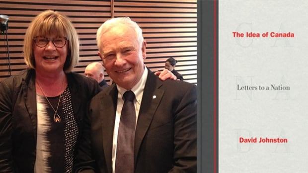 Shelagh Rogers and David Johnston at the Toronto Public Library