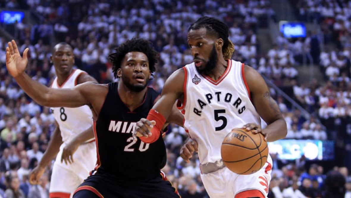 Raptor's DeMarre Carroll finding his rhythm against Heat