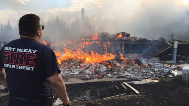 Ron Quintal from the Fort McKay volunteer fire department was surprised to be getting a call to help in Fort McMurray, and the damage left the veteran firefighter taken aback.