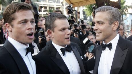 Cannes Glitz And Glamour Brad Pitt Matt Damon and George Clooney 2007