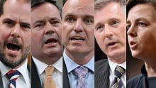 Potential NDP and Conservative leadership candidates