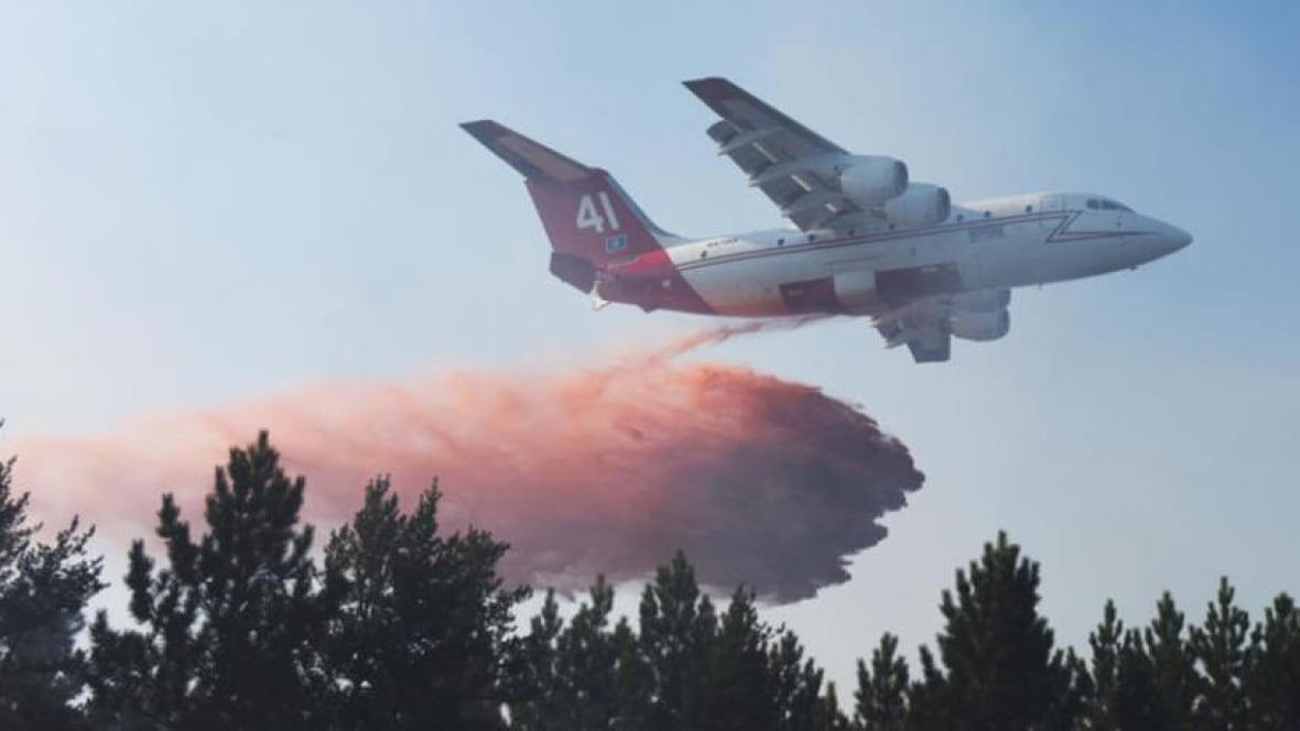 Minnesota Sends Planes To Fight Caddy Lake Wildfire