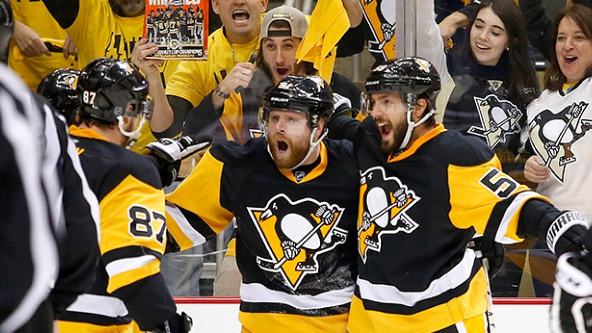 Penguins avoid collapse, eliminate Caps with OT win